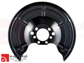 Tylna osłona tarczy hamulcowej Opel - Astra G II H III / Meriva A B / Zafira A B / Combo C 546435 / 90498290