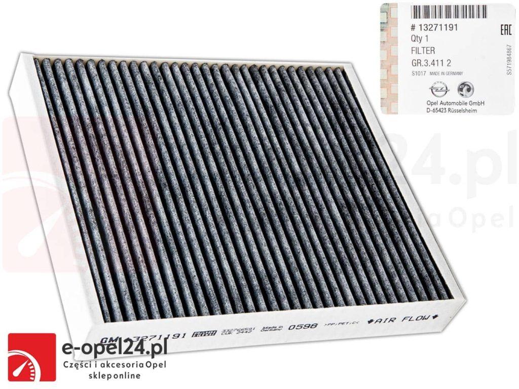 Oryginalny filtr kabinowy 1808246 / 13271191 - Opel Astra J / Cascada / Insignia / Meriva B / Zafira C