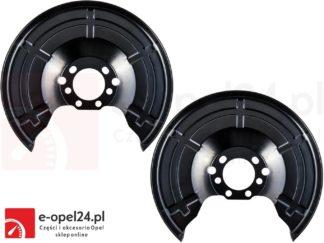 Blaszka osłaniająca tylną tarcze hamulca Opel - Astra G II H III / Meriva A B / Zafira A B / Combo C 546435