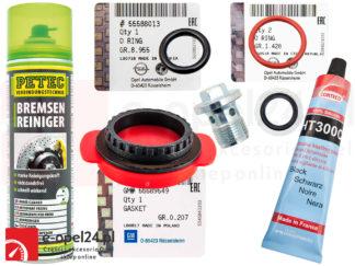 Zestaw wymiany uszczelki smoka Opel Astra J / Insignia / Zafira C 2.0 Cdti - 06 46 125