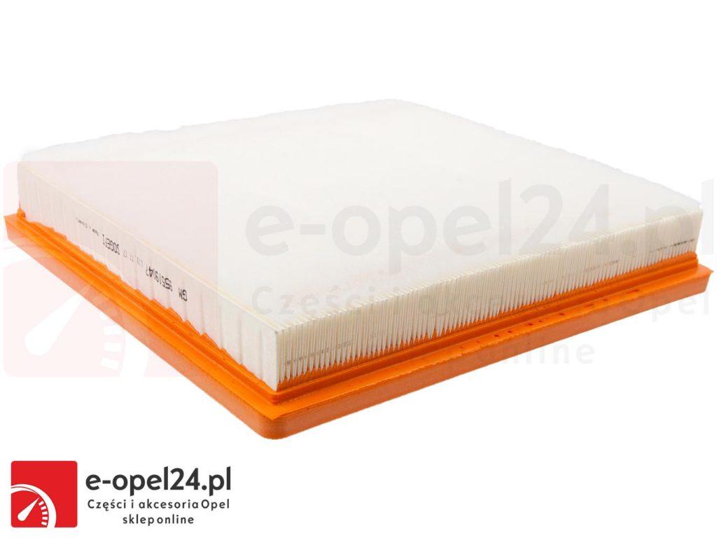 Wkład Filtra Powietrza GM do Opel Insignia Oryginalny Filtr Powietrza GM Opel Insignia 1.4 / 1.6 / 2.0 CDTI - 834125 / 13319421