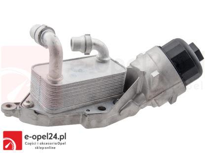 Obudowa filtra oleju w zestawie z chłodnicą, filtrem oraz uszczelkami do Opel Astra J IV / Insignia / Zafira C 2.0 cdti - 650184 / 55595532