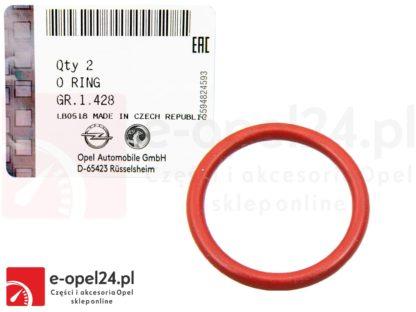 Oring uszczelka wtyczki czujnika poziomu oleju Opel Astra J / Insignia / Zafira C 2.0 CDTI
