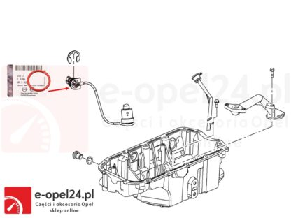 Uszczelka pod czujnik poziomu oleju w miesce olejowej Astra j / Insignia / Zafira C 2.0 CDTI