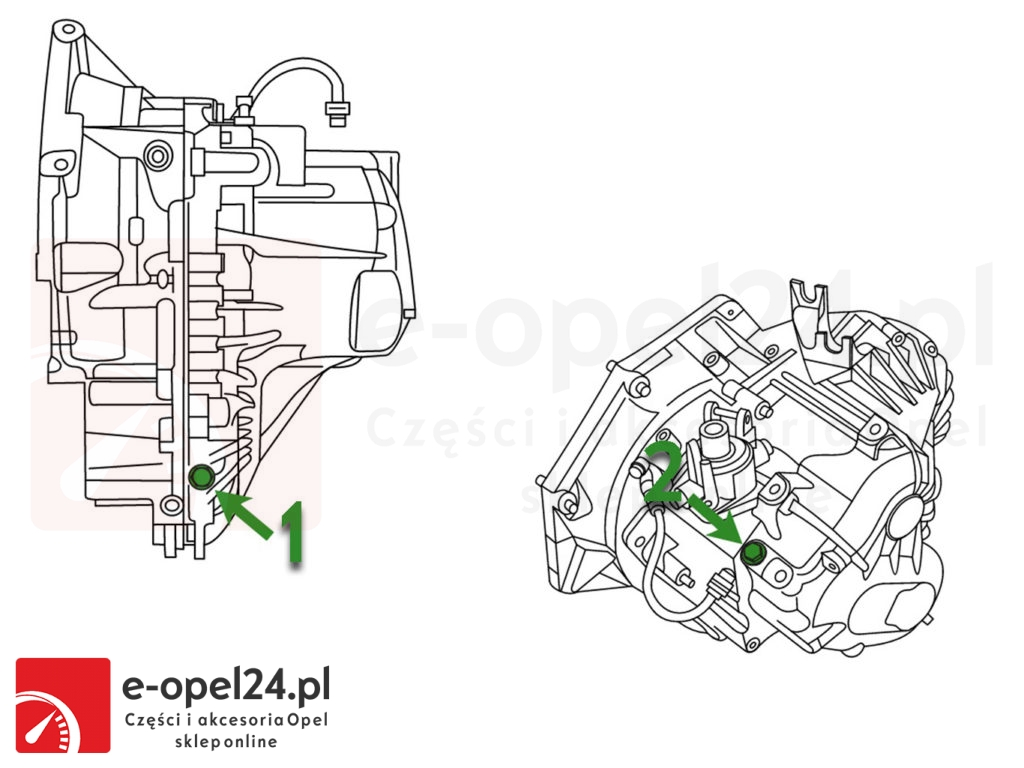 Korek Wlewu i Spuszczania-Oleju- Skrzynia f40 Opel