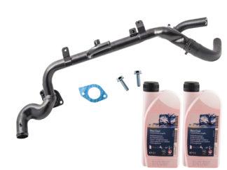 Magistrala wodna oraz płyn chłodniczy Opel Astra H / Signum / Vectra C / Zafira B 1.9 120KM /100KM - 1338341 / 93194989