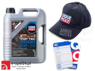 Olej Liqui Moly TopTec 4600 5W30 5L - Dexos2 + GRATIS