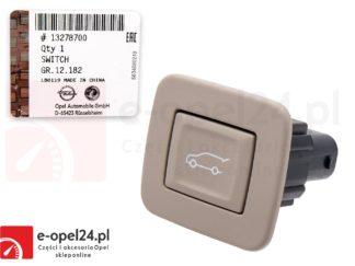 Beżowy przycisk opuszczania klapy bagazniak Opel Insigni - 6240705 / 13278700