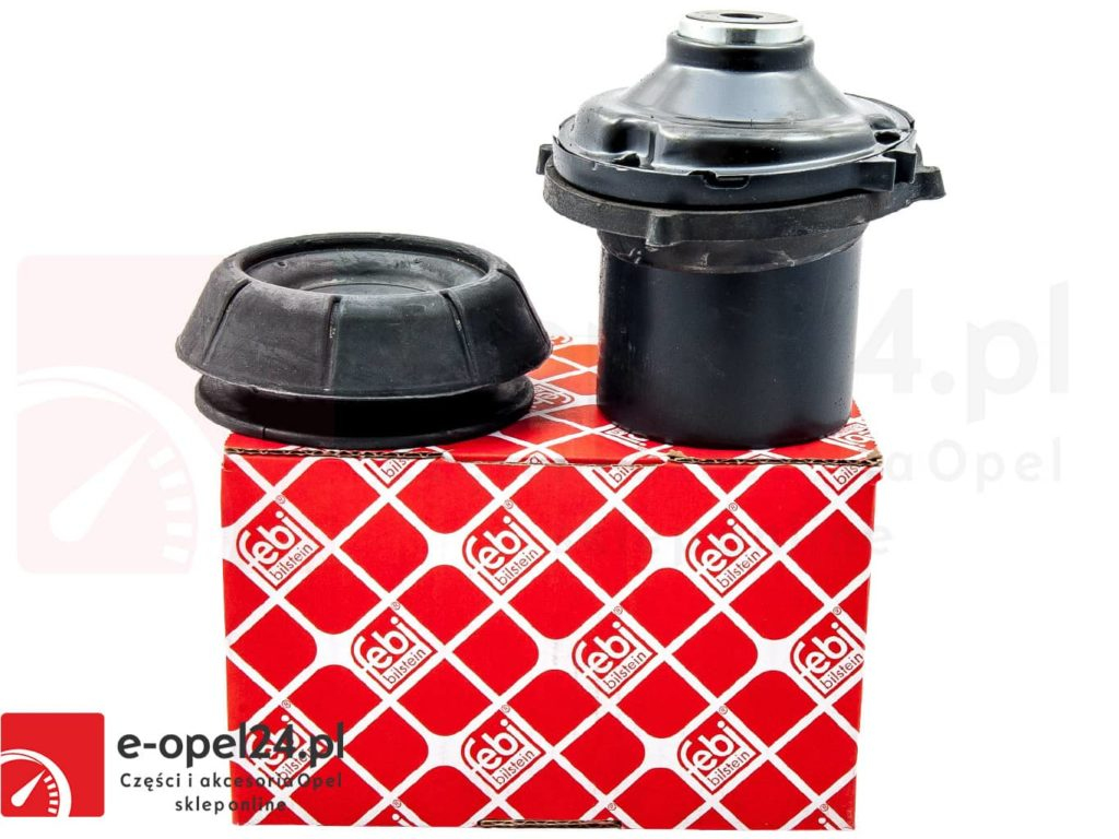 Komplet poduszki oraz łożyska amortyzatora przód Opel Astra G / Corsa B C / Combo C / Meriva A / Tigra A B / Vectra B / Zafira A - 344525 / 90538936