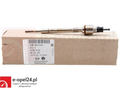 Oryginalna świeca żarowa z czujnikiem ciśnienia Opel Zafira C 1.6 - B16DTH / D16DTH / B16DTJ / D16DTJ-1214099 / 55571600