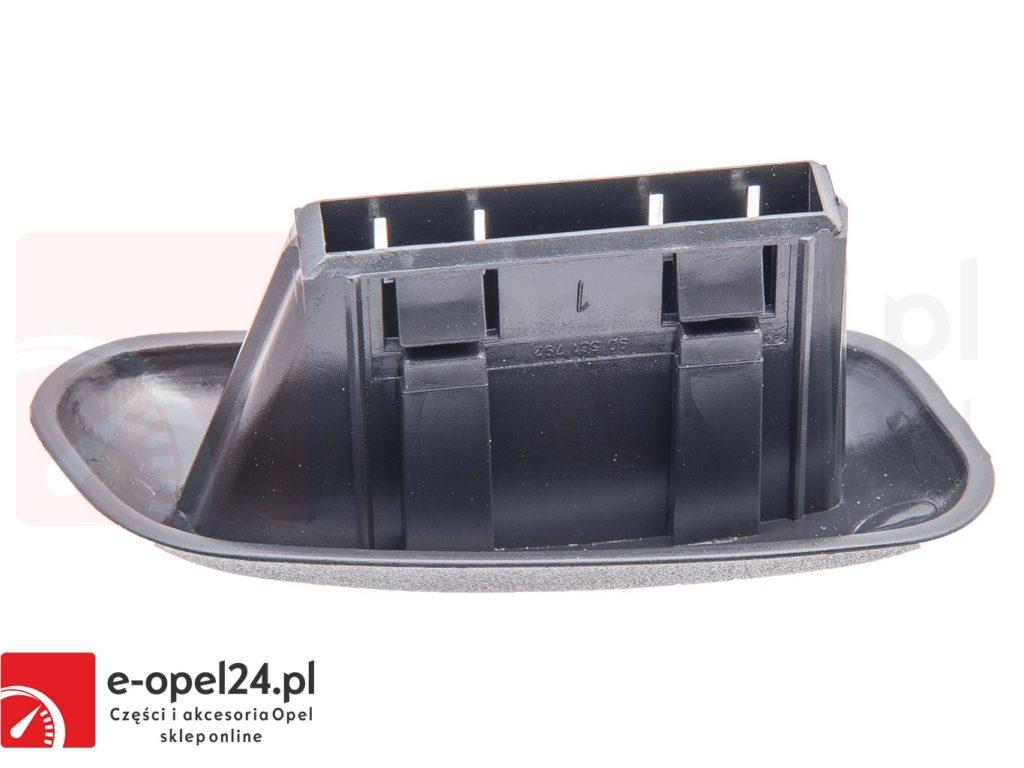 Lewa zaślepka ( uchwyt ) oparcia fotela Opel Astra G / Corsa B / Zafira - 2262173 / 90455900