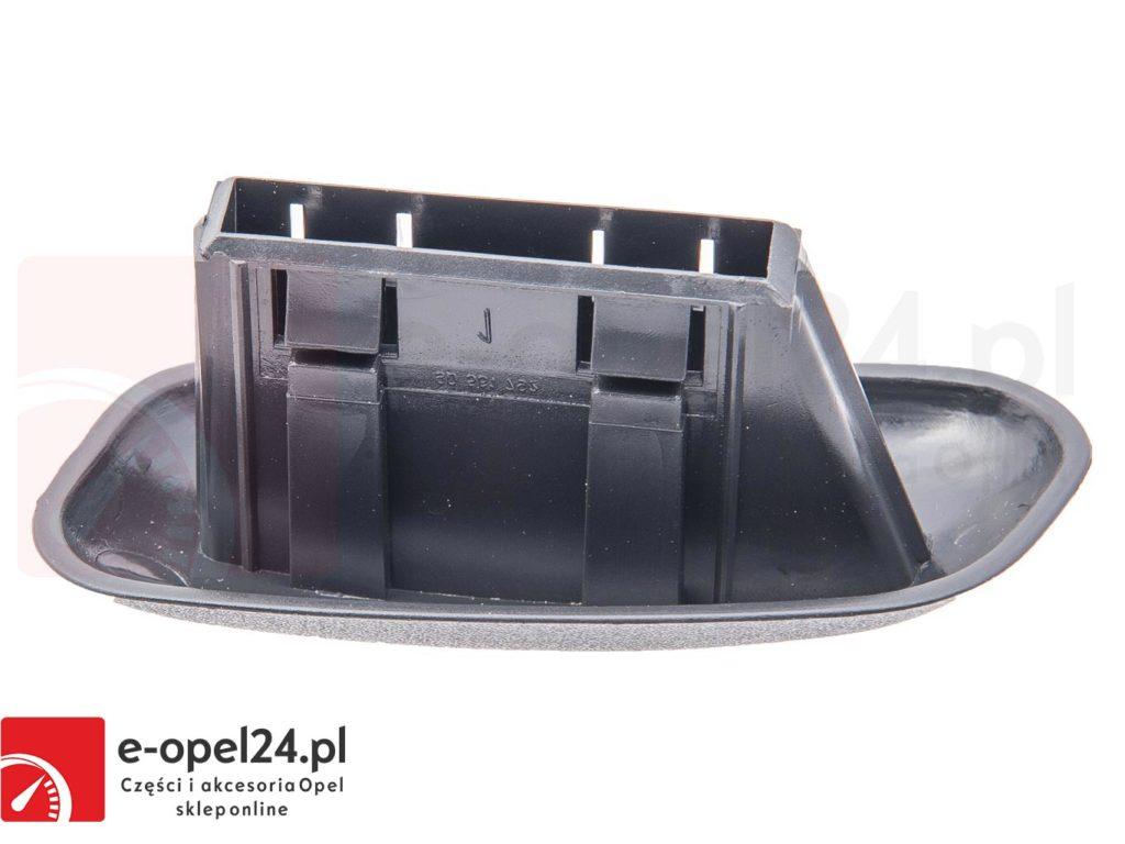 Prawa zaślepka ( uchwyt ) oparcia fotela Opel Astra G / Corsa B / Zafira - 2262172 / 90455901
