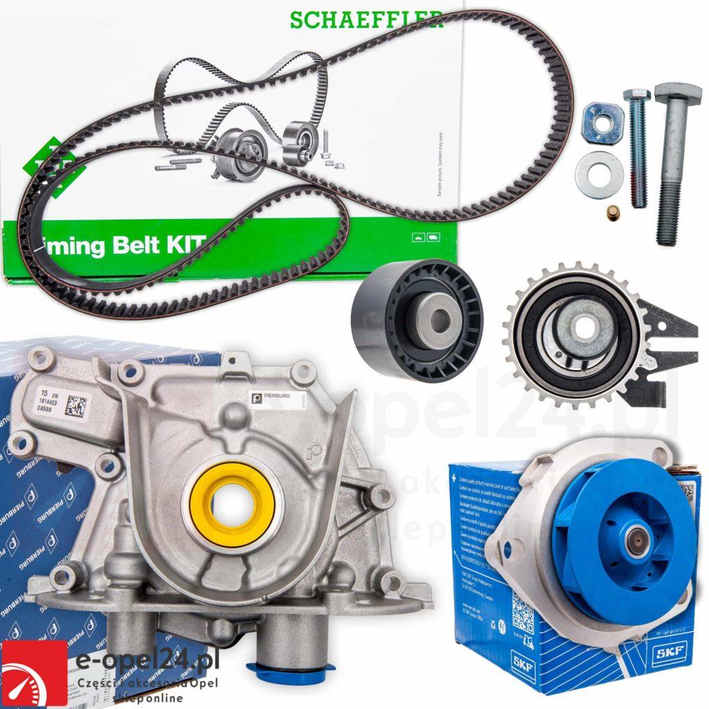 Zestaw pompa olej z rozrządem oraz pompą wody Opel Astra J / Insignia / Zafira C 2.0 CDTI
