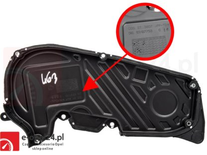 Pokrywa rozrządu Opel Astra H / Signum / Vectra C / Zafira B 1.9 CDTI - 638993 / 93178975