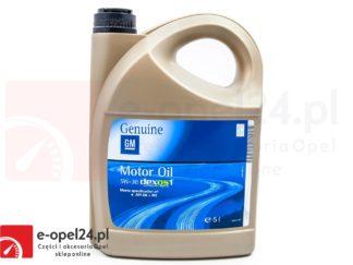 Oryginalny olej do Opla GM Dexos 1 - 95599877