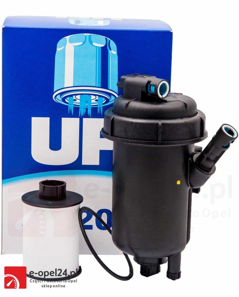 obudowa filtra paliwa z wkładem do silników diesla 1.9 cdti opel astra h zafira b vectra c signum