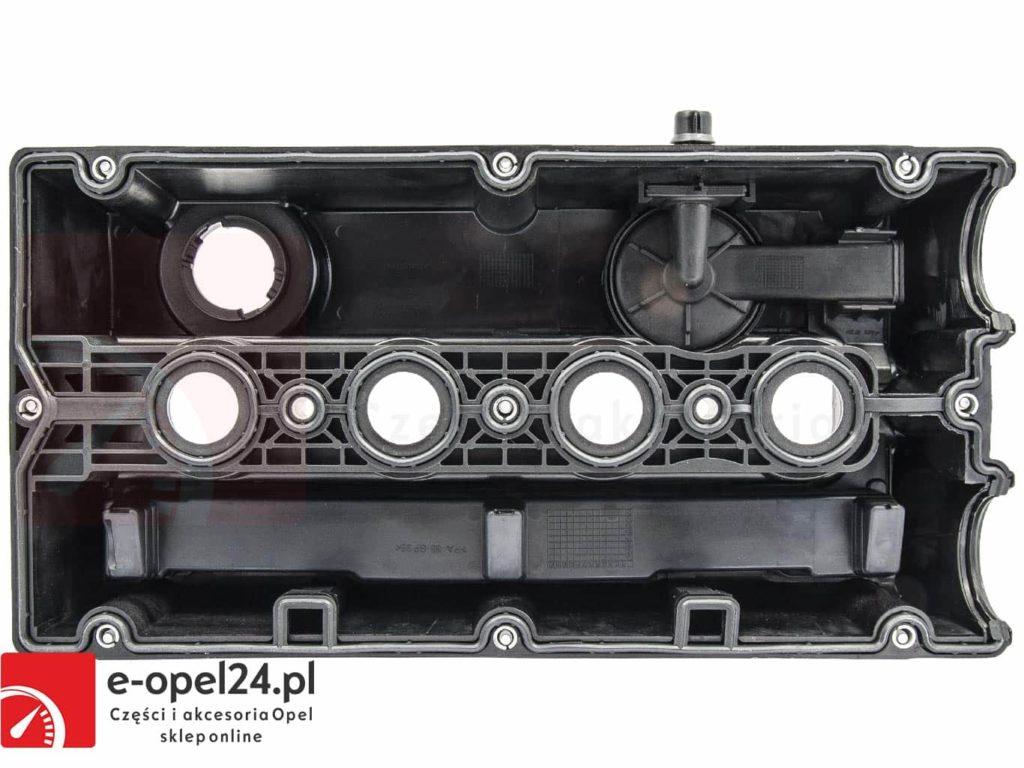 Pokrywa zaworów z uszczelką oraz śrubami Opel Astra G H / Vectra C / Zafira A B / Meriva A - Z16XEP - Z16XE1 - 5607592
