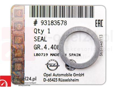Uszczelka rurki spustu oleju skrzynia AF40 Opel-Astra H J / Insignia A / Meriva B / Signum / Vectra C / Zafira B C - 705493 / 93183578