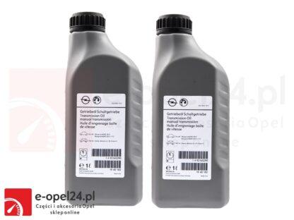 Oryginalny olej przekładniowy (czerwony) do skrzyni biegów - Opel Astra J IV / Insignia A F40 oraz M32 - 1940182 / 93165290