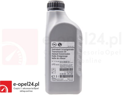 Olej przekładniowy do manualnej skrzyni biegów F17 M32 F40 F23 - 75W80 - 1940004 / 93165694