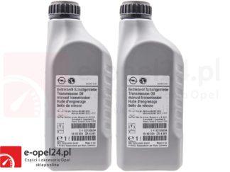 Zestaw olejów przekładniowego do manualnej skrzyni biegów F17 M32 F40 F23 - 75W80 - 1940004 / 93165694