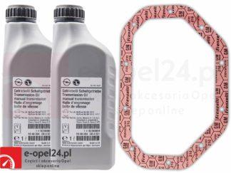 oryginalna uszczelka mechanizmu różnicowego oraz olej przekładniowy do manualnej skrzyni biegów F17 M32 F40 F23 - 75W80 - 1940004 / 93165694
