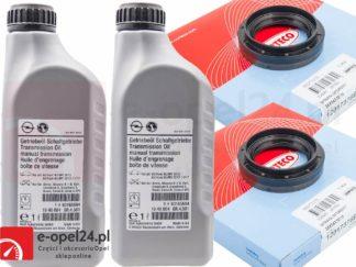 Olej przekładniowy do manualnej skrzyni biegów F17 M32 F40 F23 oraz uszczelniacz - 75W80 - 1940004 / 93165694