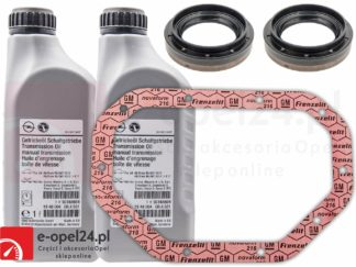 Zestaw Olej przekładniowy z uszczelniaczami oraz uszczelką F17 M32 F40 F23 - 75W80 - 1940004 / 93165694