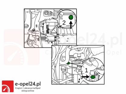Rysunek F23 Olej przekładniowy do manualnej skrzyni biegów F17 M32 F40 F23 - 75W80 - 1940004 / 93165694