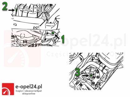 Rysunek M20 Olej przekładniowy do manualnej skrzyni biegów F17 M32 F40 F23 - 75W80 - 1940004 / 93165694