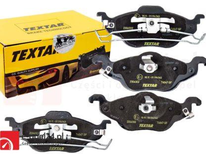 Klocki hamulcowe przód Textar - 2306302 Opel Astra G 1.2 1.4 1.6 1.8 1.7 Dti Cdti TD - 2.0-Dti