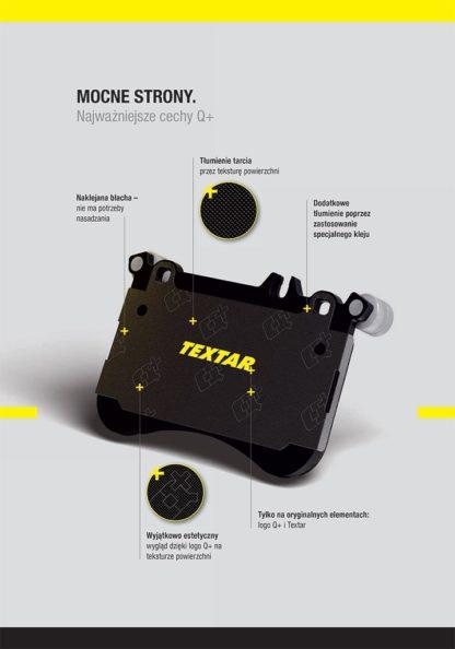 Klocki hamulcowe oś przód Textar - 2306302 Opel Astra G 1.2 1.4 1.6 1.8 1.7 Dti Cdti TD - 2.0-Dti