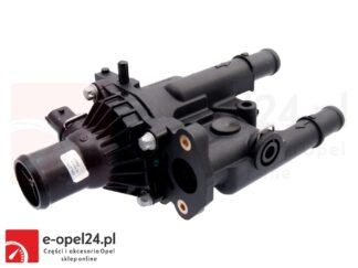Kompletny termostat w zestawie z obudową, uszczelką oraz czujnikami temperatury - firmy Topran Opel Astra J IV / Mokka / Insignia A / Zafira C 1.6 1.8 - 1338372 / 55587349