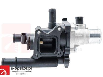Kompletny termostat z obudową do silników 1.6 1.8 Opel Astra H / Signum / Vectra C / Zafira B / Insignia - 1338178 / 55577072