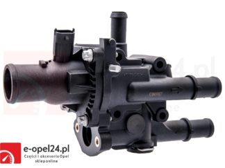 Termostat z obudową do silników 1.6 1.8 Opel Astra J Insignia Mokka Zafira C 1338372 / 55587349