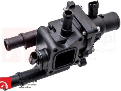 Korpus termostat z obudową do silników 1.6 1.8 Opel Astra J Insignia Mokka Zafira C 1338372 / 55587349
