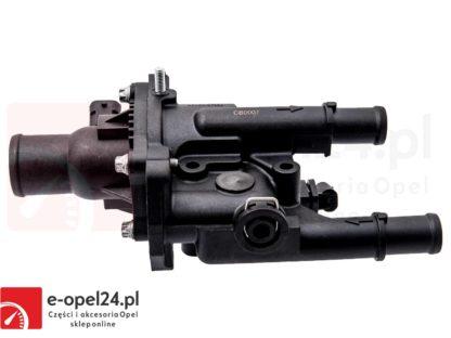Termostat firmy Topran z obudową do silników 1.6 1.8 Opel Astra J Insignia Mokka Zafira C 1338372 / 55587349