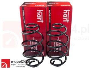 Komplet tylnych sprężyn zawieszenia (2szt) firmy Hard Opel Astra G II - 424029 / 9118377
