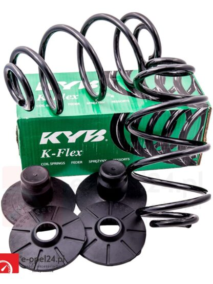 Sprężyny zawieszenia tył Kayaba KYB oraz podkładki - RX6645 Opel Astra H Kombi Van Dostawczy