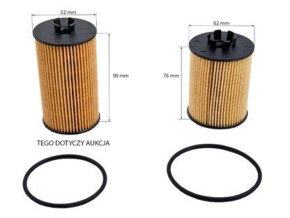 Filtr oleju Opel Adam / Astra G H J / Agila A/ Corsa B C D E / Cascada / Insignia A / Mokka X / Meriva A B / Signum / Tigra B / Vectra C / Zafira B C - 650172/55594651