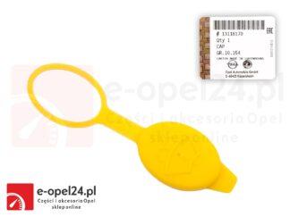 Oryginalny korek zbiorniczka spryskiwaczy szyb Opel Astra H / Corsa D / Zafira B/ - 64 50562 / 13118170