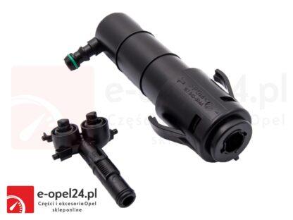 Siłownik i dysza spryskiwacza reflektora prawego Opel Insignia A - 1452136 / 13227349