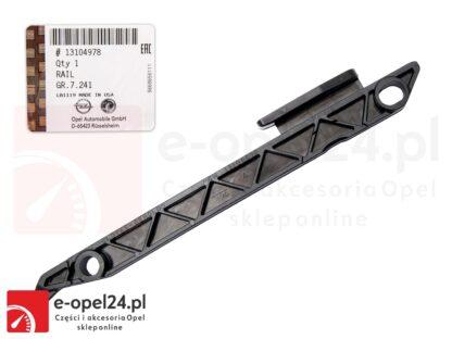 Oryginalny komplet łańcucha rozrządu Opel Astra J / Insignia A 2.0 - 0636260 / 12635447