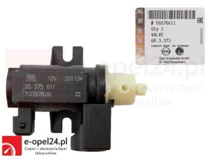 Oryginalny zawór sterujący turbosprężarki Opel Astra H J IV / Zafira B C/ Insignia A / Cascada / Meriva A B / Corsa D 1.3 1.7 1.9 - 851042 / 55575611
