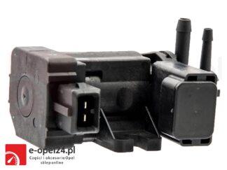 Elektrozawór sterujący turbosprężarki Opel Astra H J IV / Zafira B C/ Insignia A / Cascada / Meriva A B / Corsa D 1.3 1.7 1.9 - 5851073 / 55563534
