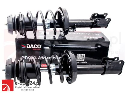 Zestaw przednich amortyzatorów i sprężyn z osprzętem do diesel oraz benzyny Opel Astra G II 1.7 2.0 2.2