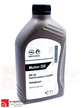 Olej GM OPEL 0W20 FUEL ECONOMY LONGLIFE / API SN+ / 1L - 95528693