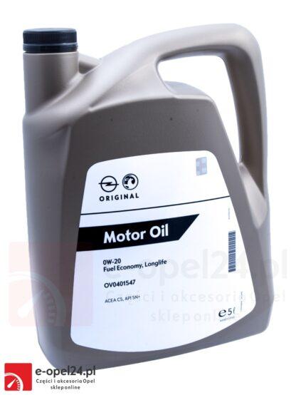 Olej GM OPEL 0W20 FUEL ECONOMY LONGLIFE / API SN /+ 5L - 95528694