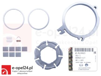 Oryginalny zestaw naprawczy pompy oleju Opel Adam / Astra J / Corsa D E / Insignia A / Meriva B / Mokka / Zafira C - 1.2 / 1.4 - 25199823 / 646095