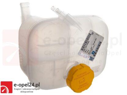 Oryginalny Zbiornik płynu chłodniczego z korkiem Opel Astra H III 1.2 / 1.4 / 1.6 / 1.8 / 2.0 / 1.3 CDTI / 1.7 CDTI / 1.9 CDTI - 1304241 / 93179469